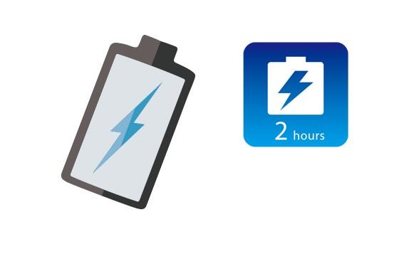 2 ساعت ذخیره باتری