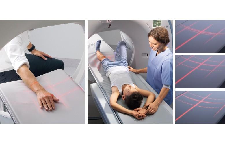 معاینه CT به سهولت یک رادیوگرافی اشعه ایکس با فیلم